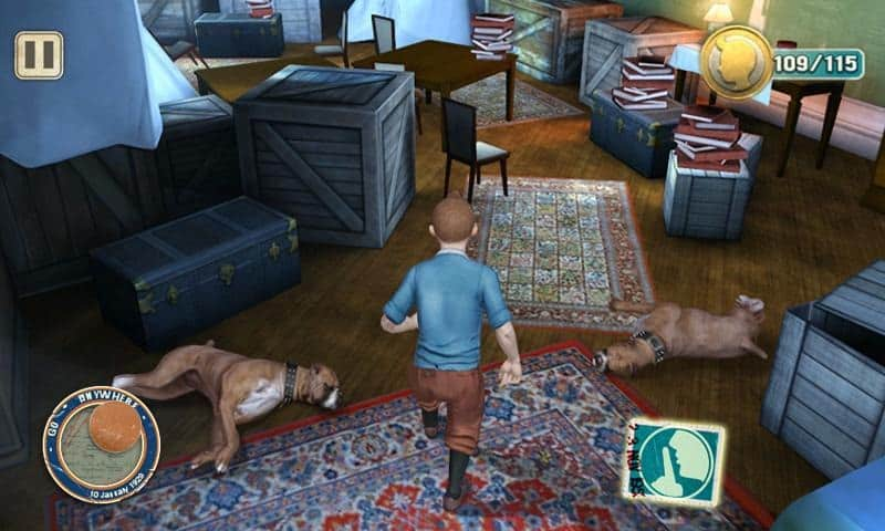 tin tin hd symbian belle game