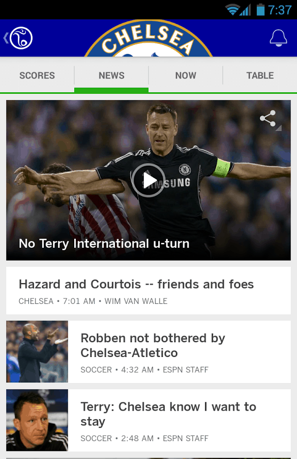 espn app for android and ios