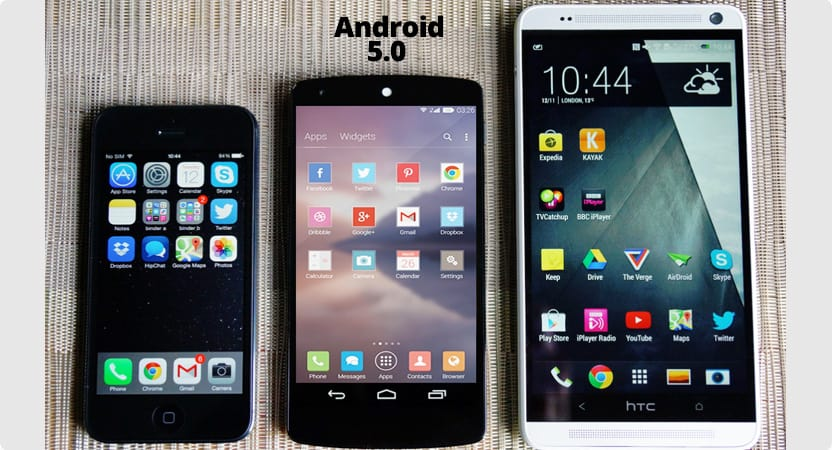 android 5 updates