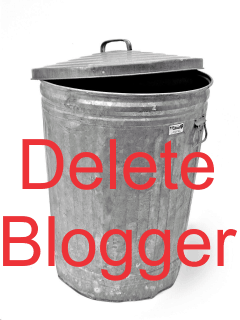How to Delete Blogger Blogs