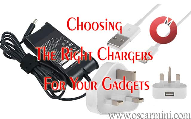Guide to choosing the best chargers for your gadgets