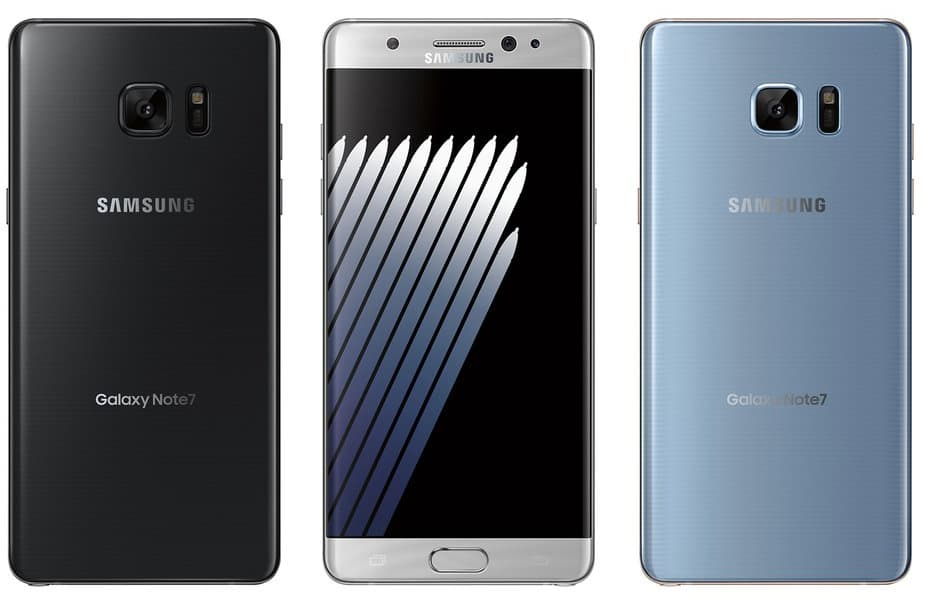 Galaxy Note 7 design