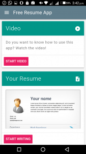 Best Resume Apps for Android