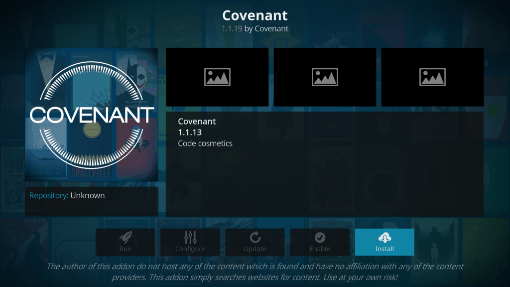 covenant add on