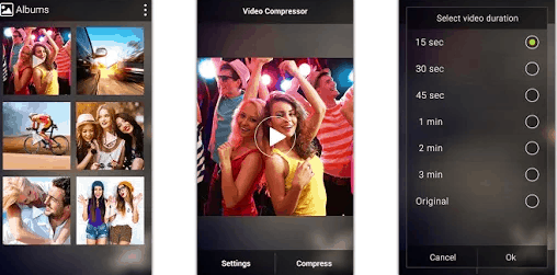 video compressor by android studios