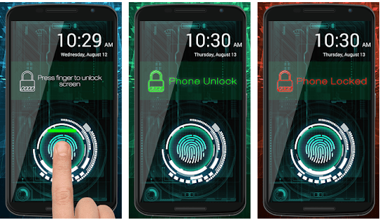 best fingerprint scanner prank app