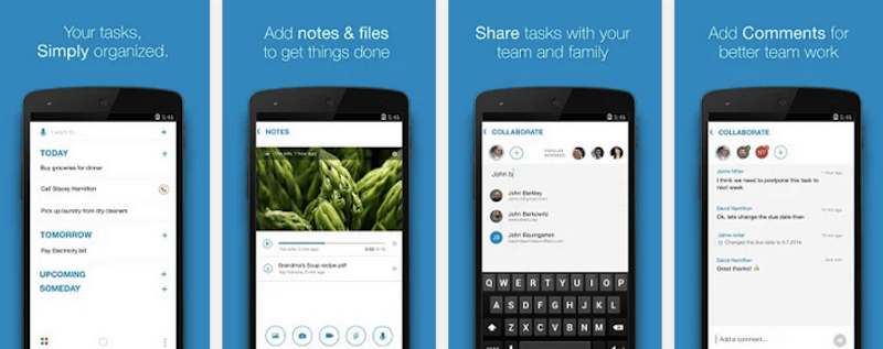 top to-do list managing apps For Android