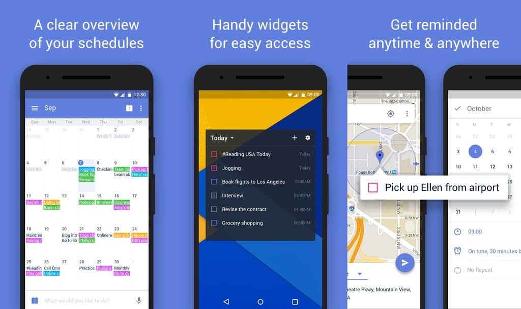 10 to-do list managing apps For Android