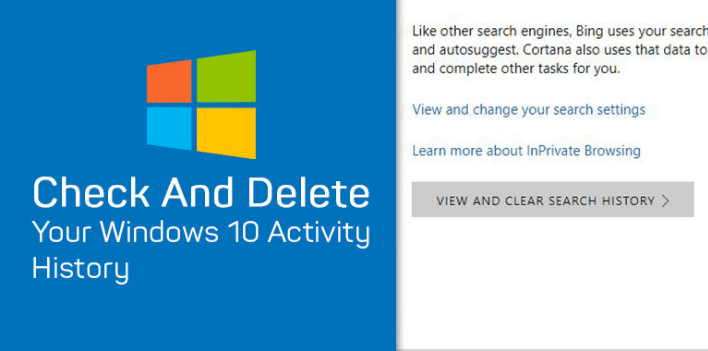 How to Delete Your Activity History on Windows