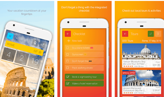 best holiday count down apps