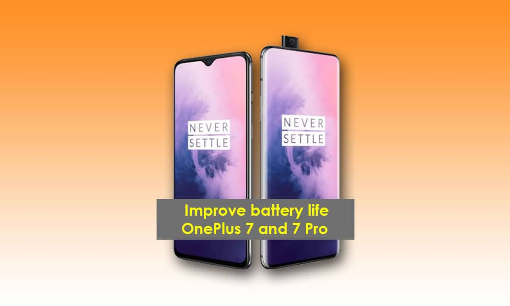 how to improve OnePlus 7 pro battery life