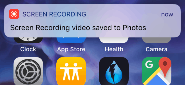 to record a video of your iPhone or iPad's screen with the new screen recording tool