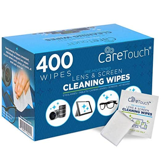 Care Touch Lense Cleaning Wipes