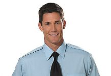 Van Heusen Short Sleeve Aviator Shirt