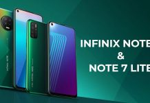 Infinix Note 7 and 7 Lite