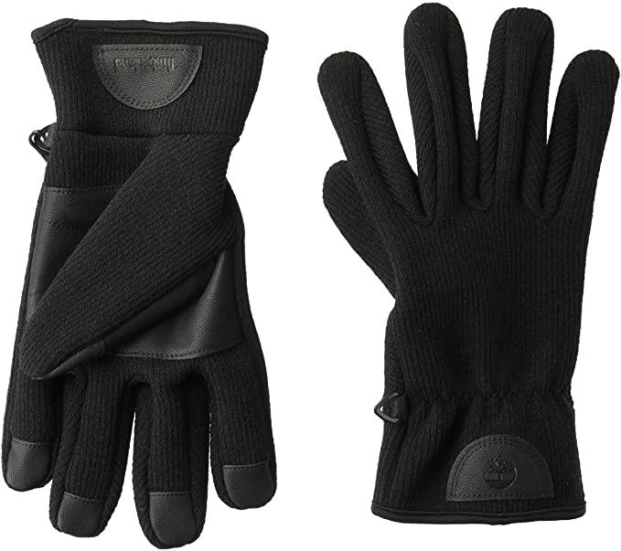 Timberland Ribbed-Knit Gloves