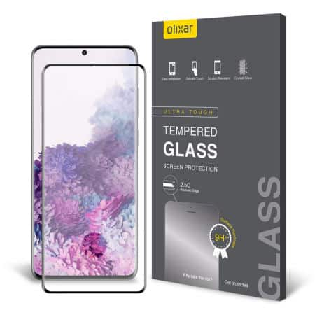 Olixar Case Compatible Glass Screen Protector