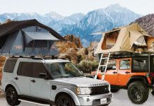 Robust Rooftop Rack & Tent
