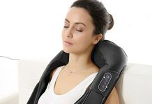 Naipo Shiatsu Back And Neck Massager
