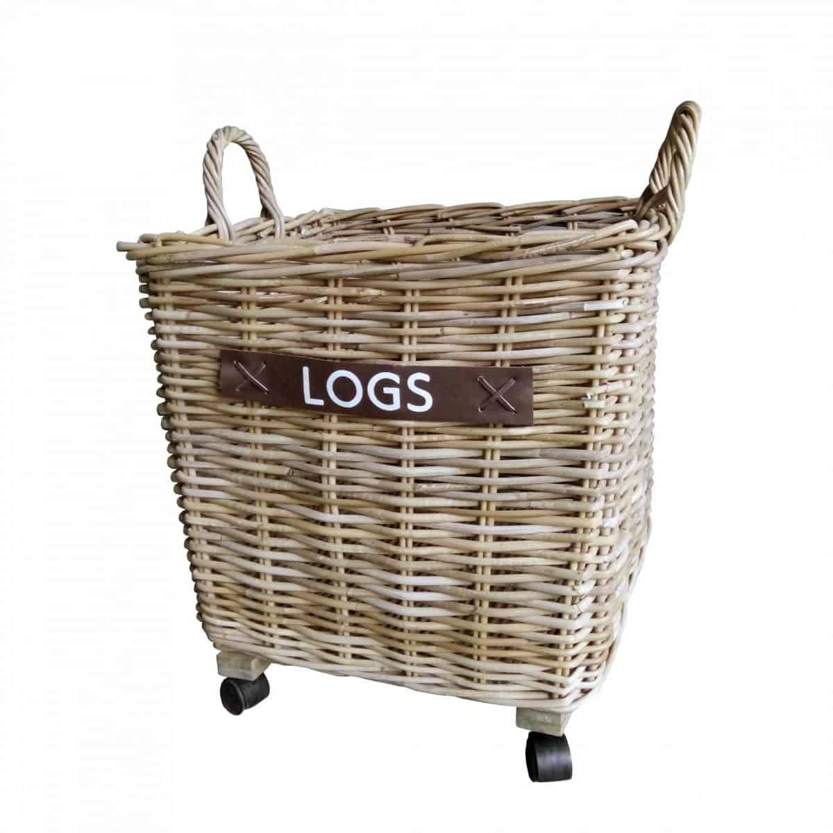 Kubu Log Basket Large