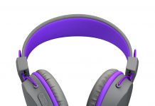 Purple JBuddies Headphone