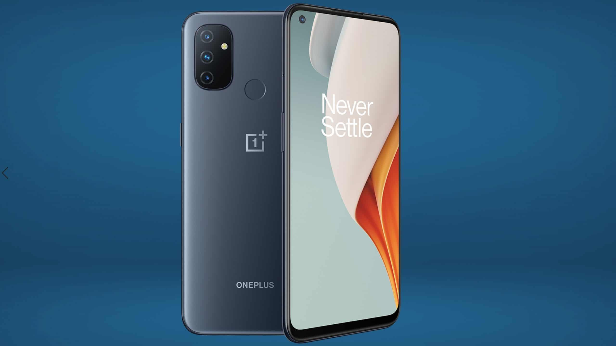 The OnePlus NordN100