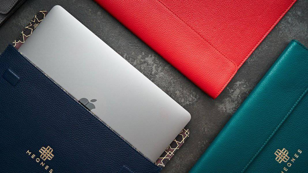 The Meqnes Leather Laptop Sleeves