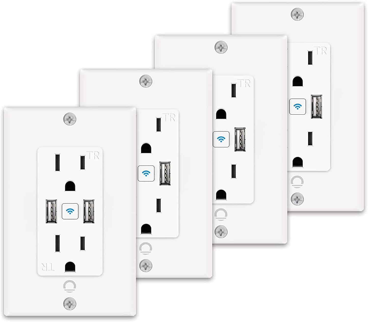 Lumary Smart Wi-Fi in-Wall Outlet